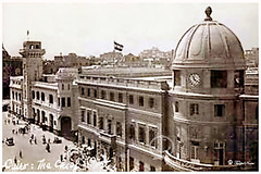 The Fire Station - Ataba Square In Cairo (Tulipe Noire) Tags: africa street station square fire egypt middleeast cairo 1950s ataba