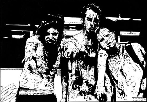 richard-serrao-3-zombies-pen-and-ink-stage-2
