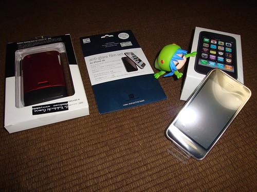 念願のiPhone!