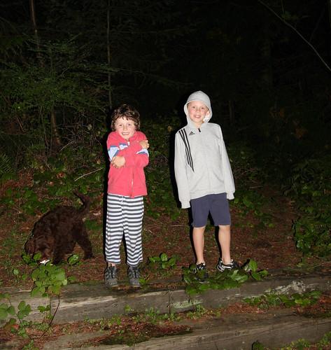 Night time Ewok walking
