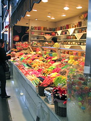 Candy! at La Boqueria Market (trenabdc) Tags: barcelona laboqueria spain2009