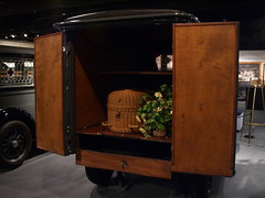 Houston Texas National Museum of Funeral History 2009 Civil War Embalming Casket Factory  Lives and Deaths of the Popes Old Restored Hearses Coachs Trucks Fantasy Coffins  Coach Presidential and Celebrities Artifacts Photos Signs P9282304 (mrchriscornwell) Tags: old signs history museum coach war factory texas photos houston casket presidential funeral civil national fantasy restored lives celebrities embalming trucks 2009 artifacts coffins coachs popes deaths hearses