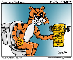 9 29 09 Bearman Cartoon Bengal Steelers