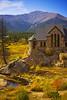 The Chapel on the Rock (kotobuki711) Tags: autumn fall church rock stone pine clouds pond colorado catholic chapel bluesky stainedglass september co mtmeeker saintmalo allenspark stcatherineschapel canon50d