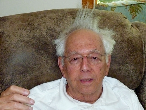 Grandpa's hair