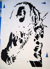 Ziggy Stencil Preview Layer 1 (G Crackle) Tags: musician stencil artist singer layer reggae marley guitarist ziggy gcrackle