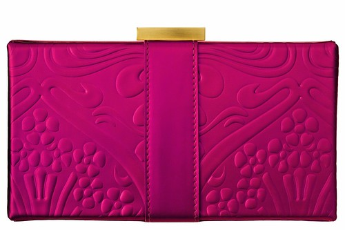 Liberty patent Evening bag pink