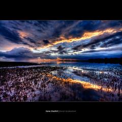 Ring of Rife ([ Kane ]) Tags: morning sky storm water rain clouds photoshop reflections dawn brisbane qld queensland kane mangroves 1020 hdr gledhill sigma1020 50d kanegledhill obramaestra wwwhumanhabitscomau kanegledhillphotography