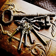 Skeleton Keys (Beyond the Rockz) Tags: rust key textures brass skeletonkeys passkey barrelkey bitkey