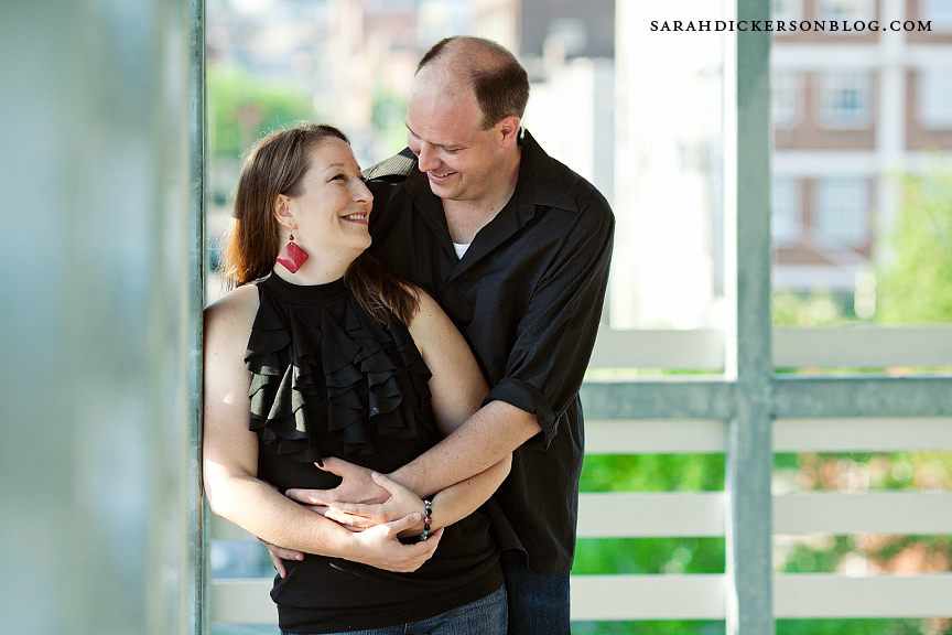 Freight House Kansas City engagement photography