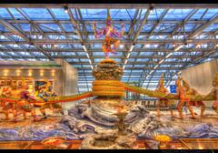 19th May - Churning the Milk Ocean (Rawbean Laden) Tags: sculpture vishnu tokina shiva apad hindu hdr vasuki 1116 suvarnabhumiairport samudramanthan neelakanta oceanofmilk serpentking mountmandara kshirasagar ksheerasagaramathanam