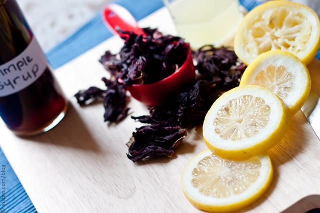 Sliced Lemons - Hibiscus