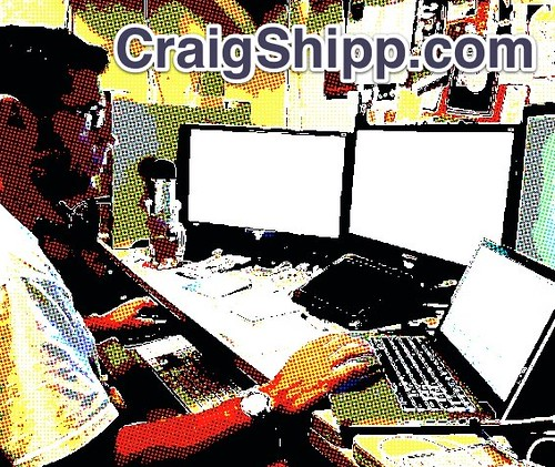 CraigShipp.com Workstation Comicbook by CraigShipp.com Photos - Events / People / Places