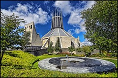 Metropolitan Cathedral of Christ the King,Liverpool .. (Hazeldon73) Tags: building architecture liverpool king christ cathedral smith tony metropolitan hdr wow1 wow2 wow3 hotpixuk mygearandme mygearandmepremium ringexcellence
