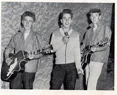 The Taverners 1961 Bob Sandall centre