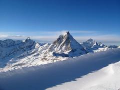 IMG_7335 (chrisgandy2001) Tags: mountain snow ski switzerland skiing bluesky snowboard zermatt matterhorn bluebird skitrips cervino sweiss gettyvacation2010