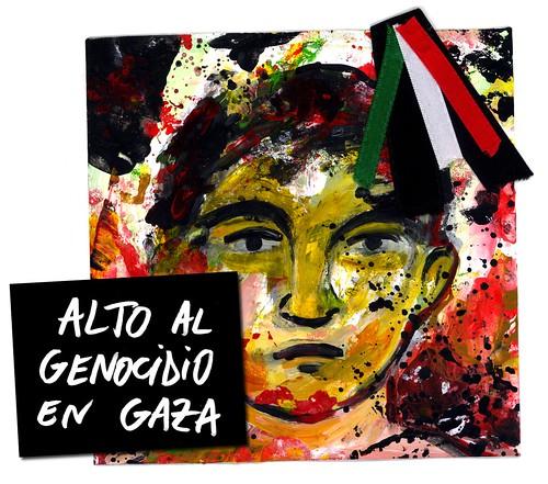 ALTO AL GENOCIDIO EN GAZA 17 enero 2009