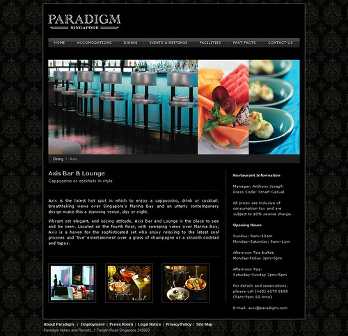 Paradigm Singapore - Article Page