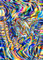 Abstract Reflections (Orla_OMDC) Tags: abstract reflection electric movement neon pattern vibrant vivid gaudy colourful wavy rippling multicolour technicolour