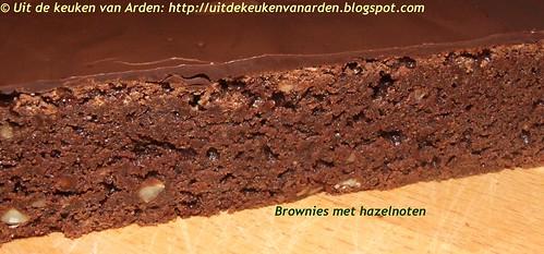 Brownies met hazelnoten