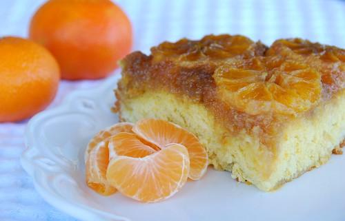 clementine cake slice
