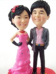 Marry me! (clay figurines) Tags: wedding cake toppers