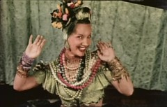 Carmen Miranda at the height of her career