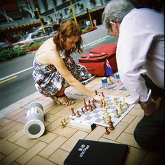 Chess Girl por Twentyhertz