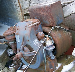 Model BP Briggs and Stratton Kohler generator set. (Anthony K.) Tags: old abandoned antique engine generator forgotten northdakota deserted unused briggsandstratton