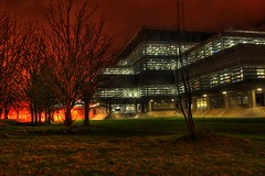 72/365 Library at Night (SeanOConnor2010) Tags: night library 365 ucd hdr project365 72365 p3652009 jamesjoycelibrary