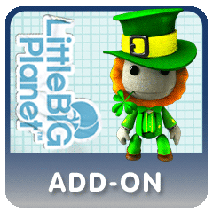 LittleBigPlanet Add-On St Patty's Day Costume