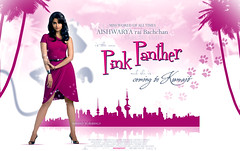 The Pink Panther ... !! (Bally AlGharabally) Tags: world pink wallpaper india perfect all princess designer queen actress times kuwait miss panther rai aishwarya bachchan bally of gharabally algharabally nohashomeee