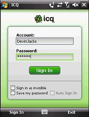 ICQ- Sign In