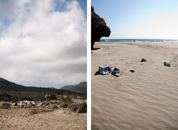 2 vidas en la playa