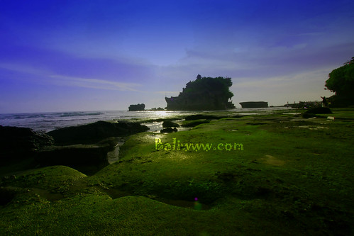 Manis Galungan at Tanah Lot
