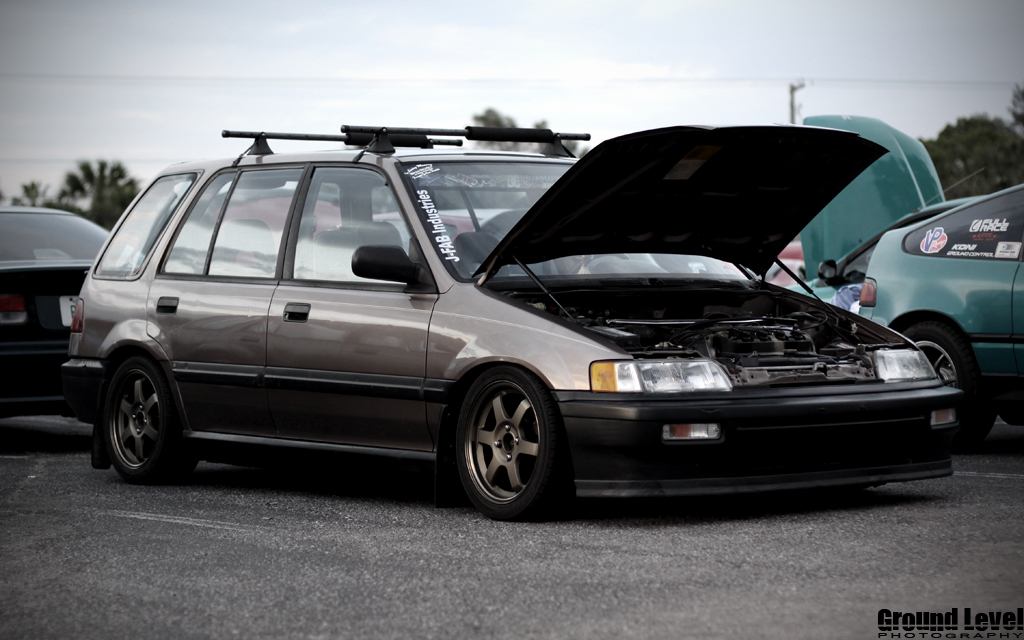 Ee Wagovan Civic Wagon Club Stop In Hang Out Tampa Racing