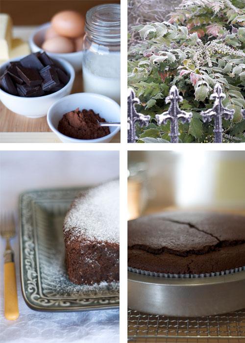 Chocolate Cake Montage