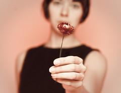 084 - Mar 25 - Dark Garden (ladybugrock) Tags: march blackdress driedflowers storypeople 365days totw ladybugrock