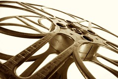 Film Reel (Livingstudios) Tags: film sepia 35mm movie softbox reel 2000ft blog365