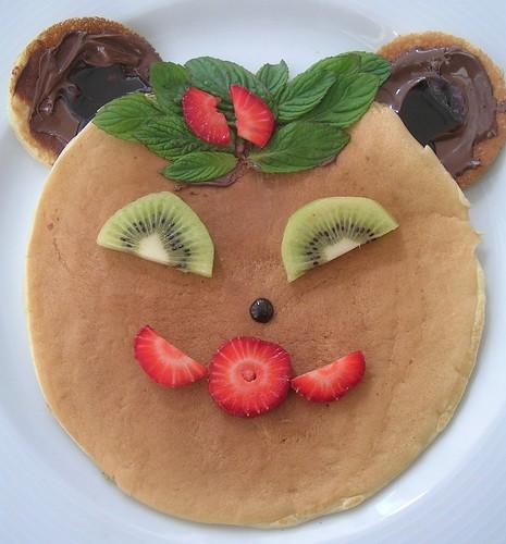 Bebek Yüzlü Pancake