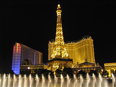 Paris Las Vegas & the fountains of Bellagio