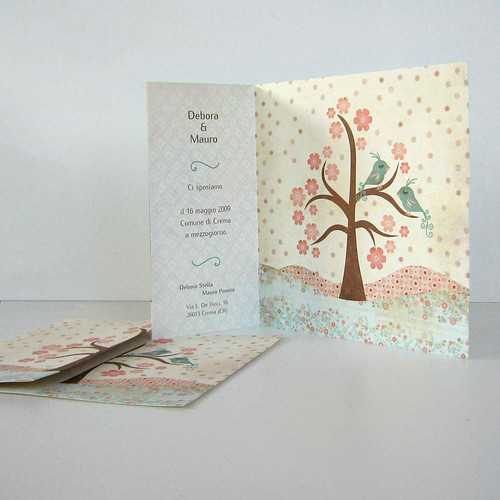 Love Birds Wedding Invitation Collection1