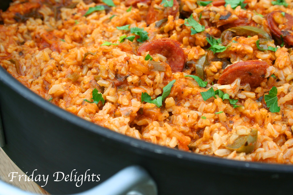 Friday Delights: Spicy Louisiana JAMBALAYA