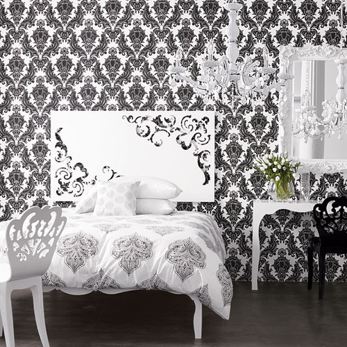 brocade home wallppaer. Brocade Home Wallpaper   AphroChic   Modern Soulful Style