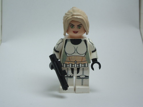 Custom minifig female starwars clone trooper custom minifig