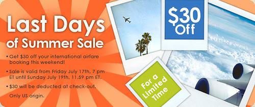 Vayama Cheap International Tickets Sale. last summer sale main