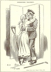Unprescribed Treatment (anna wilder) Tags: soldier kiss wwi cartoon 1wk kuss marr blighty ferrier wk1