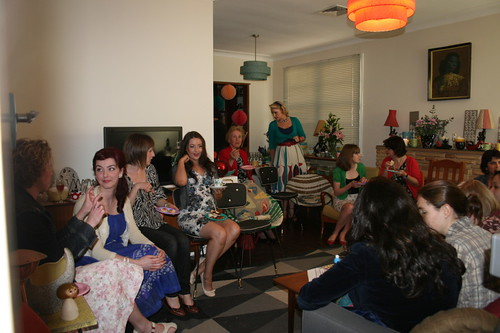 The Bridal Shower in full swing