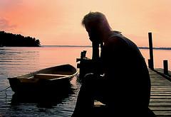 Lazy summerdays (Per Ola Wiberg ~ powi) Tags: friends beautiful niceshot sweden loveit explore harmony sverige splash 2009 semester goldenhour leena sommar tisthe
