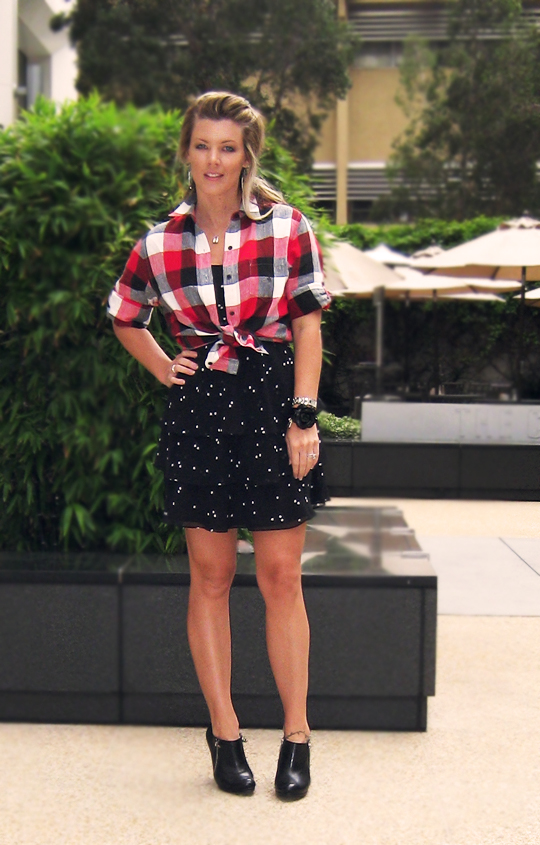 plaid-polka-dots-ruffle-skirt-6